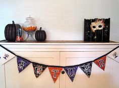 Autumn Bunting -- fall harvest & Thanksgiving, Craftster.org