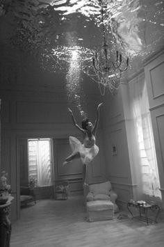Water ballet.