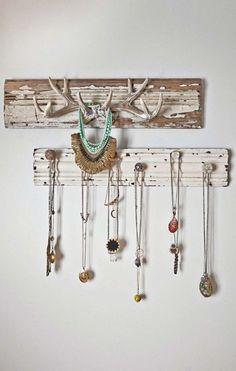 Antlers & Knobs Jewelry Display