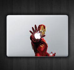 Iron Man Blast 13 Macbook Decal Macbook Sticker Air by SoldforLess, $12.99