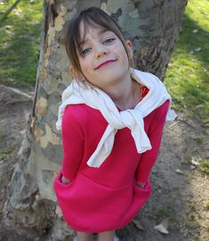 DIY Sweatshirt Dress for Girls