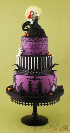 Nommy wedding cake!