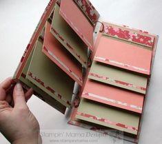 notebook, craft, mini album, scrapbook cards, flip books, paper bags, minialbum, bag album, paper bag books