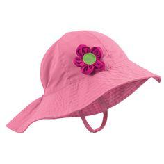 Sun Smarties Girl's Pink Sun Hat