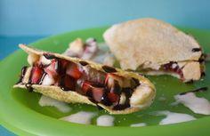 Erica's Sweet Tooth » Cinnamon Sugar Dessert Tacos
