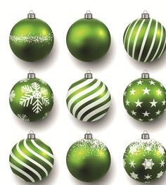 Beautiful Christmas balls caretive design vector 02