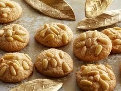 Pignoli Cookies Recipe : Anne Burrell : Food Network - FoodNetwork.com
