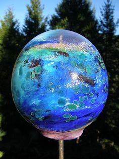 hand blown glass balloon