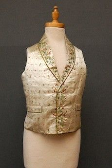 early 19th c waist coat