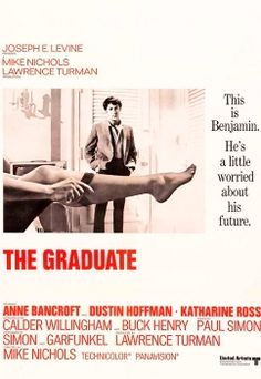 """'The Graduate' (1967).  One of my all time favs. """"Elaine! Elaine!"""""""