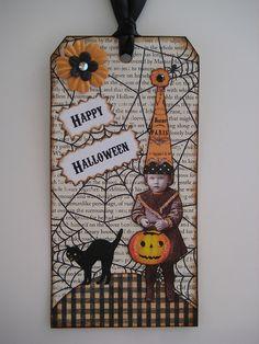 <3 Halloween tag - ATC idea