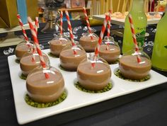 Holiday Party Idea- serve Drinks out of ornaments. hello   http://christmasdecorstyles.blogspot.com