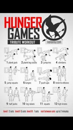 Hunger Games Workout. #charlottepediatricclinic