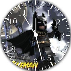 "New Lego Batman wall clock 10"" Room Decor A377 Fast shipping. $9.49, via Etsy."