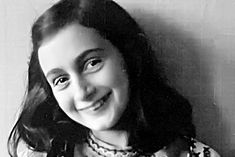 Anne Frank...Anne Frank truly makes me proud of my Jewish heritage. I love you, Anne.