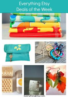 Everything Etsy Deals of the Week — 9/27/2014 - I love shopping with discounts!!! #etsy #handmade