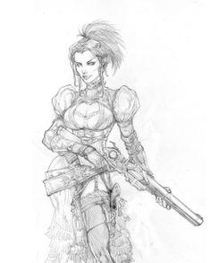 Lady Mechanika by ~justbuzz on deviantART