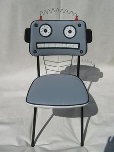FUNky chairs by leftcoastartisans on Etsy,
