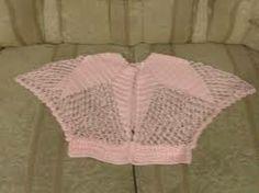 Toreras tejidas a crochet para niña