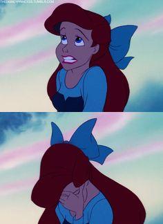 Ariel's facepalm>>>>