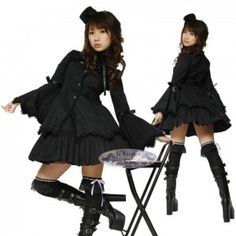 Ero Kuro Lolita Model