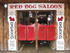 Red Dog Saloon in Juneau,Alaska   2010. Enjoyed a lovely lunch. Take the time to experience it too !!