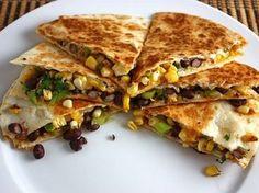 Quiona Quesadillas for meatless Mondays