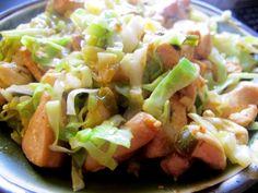 ~Cashew Cabbage Chicken~