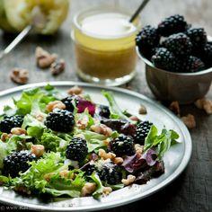 Blackberry and Walnut Salad