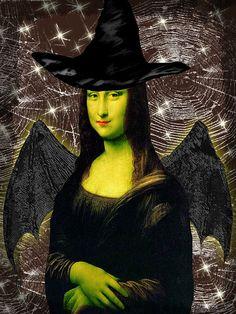 Halloween Mona Lisa