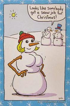 Looks like somebody got a snow job for Christmas