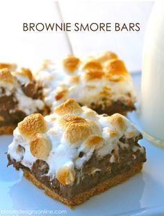 Brownie smore's bars -yum!!