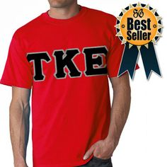 Fraternity Lettered T-Shirt $16.99 #Greek #Clothing #BestSeller