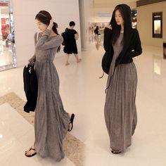 2014 Outono e inverno nova chegada Elegantes Mulheres de Outono vestido de UMA PEÇA de Malha WLWC063 de manga Comprida vestido