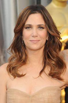 2012 Oscars - #KristenWiig beachy waves #hair