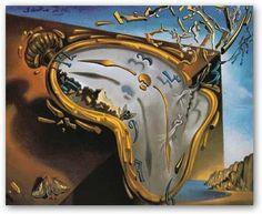 Salvador Dalì l'artista metafisico: mostra a Roma fino a Luglio...clay melting clock...2nd