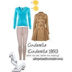 Cinderella (Cinderella 1950), created by ktizz on Polyvore