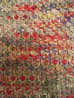 honeycomb crochet stitch