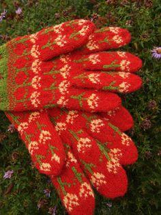 Seto (Estonian) mittens