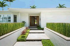 The custom wood front door and the geometric stepping stones make this the most unique house on the block. Kihei, HI Coldwell Banker Island Properties $2,850,000