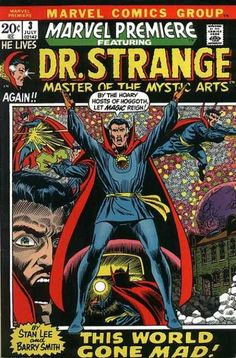 MARVEL PREMIERE 3 DR. STRANGE BRONZE AGE MARVEL COMICS