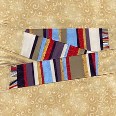 4th Doctor Scarf Doctor Who Quilt Pattern