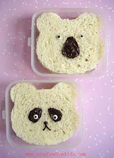 Cute Food For Kids?: 2 Bear Sandwiches