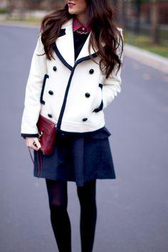 white coat, jacket, fashion fade, fashion clothes, style
