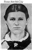 The real Roseanna McCoy,of Hatfield McCoy feud fame.
