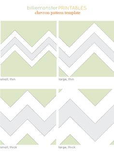 printable chevron patterns