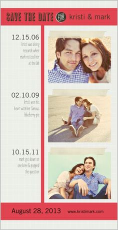 Our Timeline Save The Date