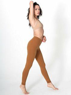 American Apparel - Cotton Spandex Jersey Legging