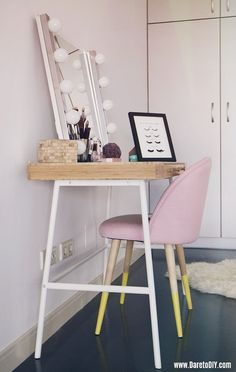 Dare to DIY: DIY ROOM DECOR | cabecero con mapa del mundo & c??mo pintar muebles de forma original