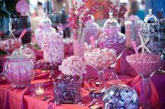 Marvalous Candy Buffet sweet flavor, pink candi, shower secret, bridal shower, decor idea